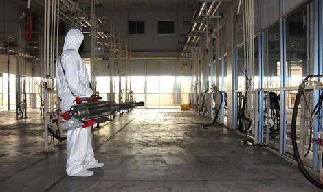 บริการฆ่าเชื้อแบคทีเรีย ไวรัส …